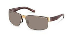 Porsche Design P8573 C gold, brown / brown gradient
