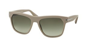 Prada PR 03RS TV54M1 GREEN GRADIENTMATTE BRUSHED BEIGE
