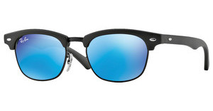 Ray-Ban Junior RJ9050S 100S55 BLUE MIRRORMATTE BLACK