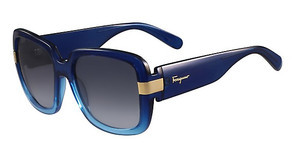 Salvatore Ferragamo SF779S 414 BLUE GRADIENT