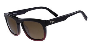 Salvatore Ferragamo SF789S 012 BLACK BURGUNDY