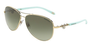 Tiffany TF3034 60213M GREEN GRADIENTPALE GOLD