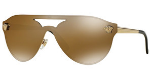 Versace VE2161 1002F9 BROWN MIRROR GOLDGOLD