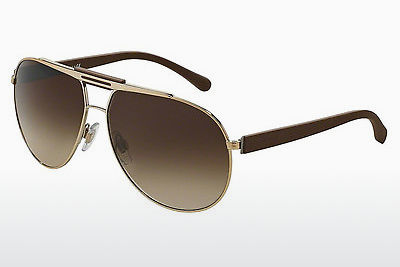 משקפי שמש Dolce & Gabbana OVER MOLDED RUBBER (DG2119 119013) - זהב