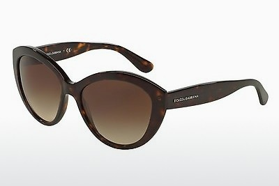 משקפי שמש Dolce & Gabbana CONTEMPORARY (DG4239 502/13) - חום, הוואנה