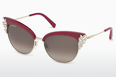 משקפי שמש Dsquared DQ0200 69K - בורגונדי, Bordeaux, Shiny