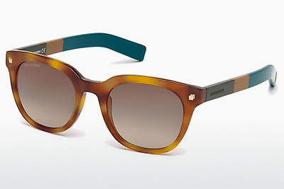 משקפי שמש Dsquared DQ0208 53K - הוואנה, Yellow, Blond, Brown