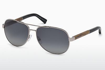 משקפי שמש Ermenegildo Zegna EZ0010 14B - אפור, Shiny, Bright
