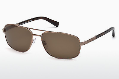 משקפי שמש Ermenegildo Zegna EZ0012 34J - ארד, Bright, Shiny