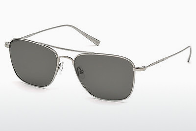 משקפי שמש Ermenegildo Zegna EZ0032 14D - אפור, Shiny, Bright