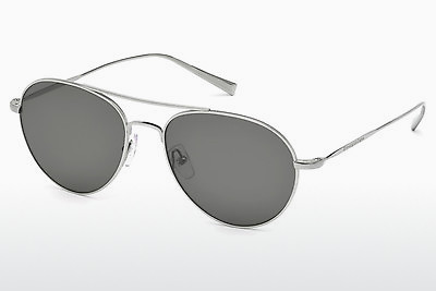 משקפי שמש Ermenegildo Zegna EZ0033 14D - אפור, Shiny, Bright