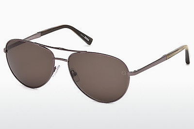 משקפי שמש Ermenegildo Zegna EZ0035 34J - ארד, Bright, Shiny