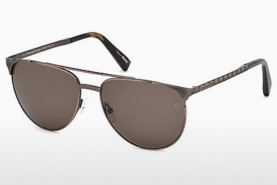 משקפי שמש Ermenegildo Zegna EZ0040 34J - ארד, Bright, Shiny