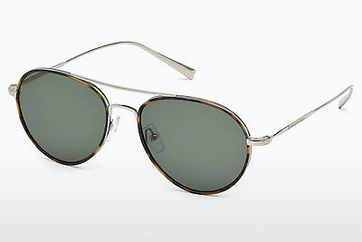 משקפי שמש Ermenegildo Zegna EZ0053 14N - אפור, Shiny, Bright