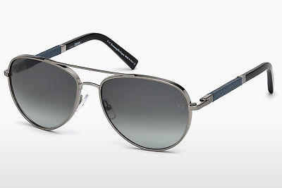 משקפי שמש Ermenegildo Zegna EZ0066 14B - אפור, Shiny, Bright