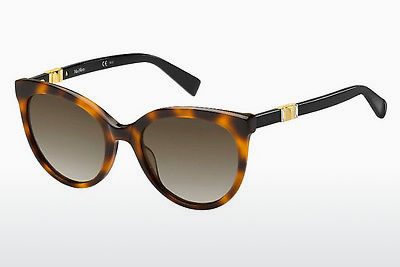 משקפי שמש Max Mara MM JEWEL II 086/HA - חום, הוואנה