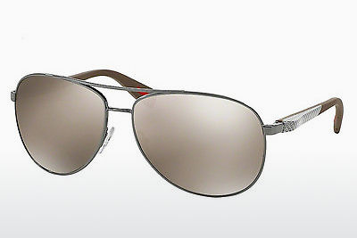 משקפי שמש Prada Sport NETEX COLLECTION (PS 51OS 5AV1C0) - אפור