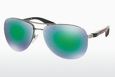 משקפי שמש Prada Sport PS 56MS (65) (PS 56MS 5AS1M2) - כסוף, Pewter