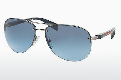 משקפי שמש Prada Sport PS 56MS (65) (PS 56MS 5AS5I1) - כסוף, Pewter