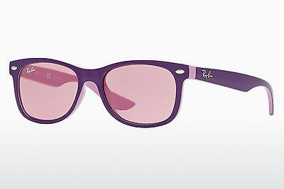 משקפי שמש Ray-Ban Junior RJ9052S 179/84 - ארגמן, ורוד