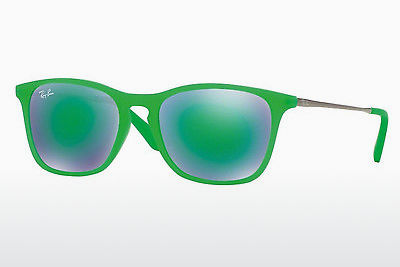 משקפי שמש Ray-Ban Junior RJ9061S 70073R - ירוק