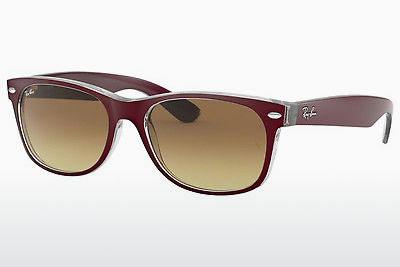 משקפי שמש Ray-Ban NEW WAYFARER (RB2132 605485) - ארגמן, Bordo