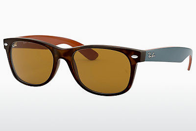 משקפי שמש Ray-Ban NEW WAYFARER (RB2132 6179) - חום, הוואנה