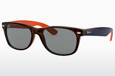 משקפי שמש Ray-Ban NEW WAYFARER (RB2132 6180R5) - חום, הוואנה