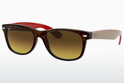 משקפי שמש Ray-Ban NEW WAYFARER (RB2132 618185) - חום, הוואנה