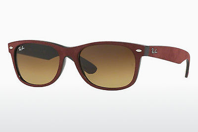 משקפי שמש Ray-Ban NEW WAYFARER (RB2132 624085) - שחור, אדום