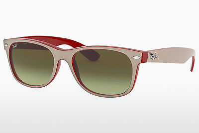 משקפי שמש Ray-Ban NEW WAYFARER (RB2132 6307A6) - לבן, אדום