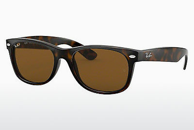 משקפי שמש Ray-Ban NEW WAYFARER (RB2132 902/57) - חום, שריון צב