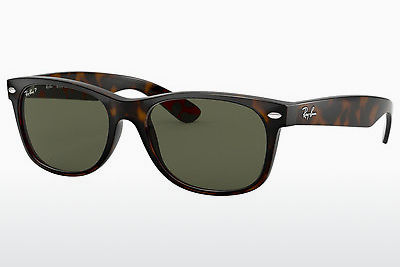 משקפי שמש Ray-Ban NEW WAYFARER (RB2132 902/58) - חום, שריון צב