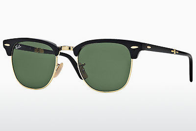 משקפי שמש Ray-Ban CLUBMASTER FOLDING (RB2176 901) - שחור