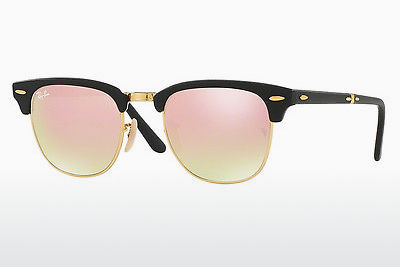 משקפי שמש Ray-Ban CLUBMASTER FOLDING (RB2176 901S7O) - שחור