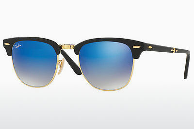 משקפי שמש Ray-Ban CLUBMASTER FOLDING (RB2176 901S7Q) - שחור