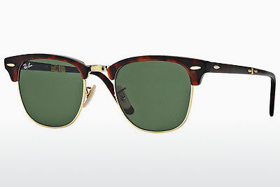משקפי שמש Ray-Ban CLUBMASTER FOLDING (RB2176 990) - חום, הוואנה
