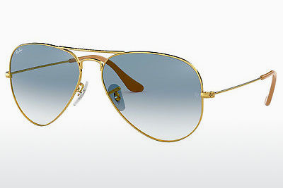 משקפי שמש Ray-Ban AVIATOR LARGE METAL (RB3025 001/3F) - זהב