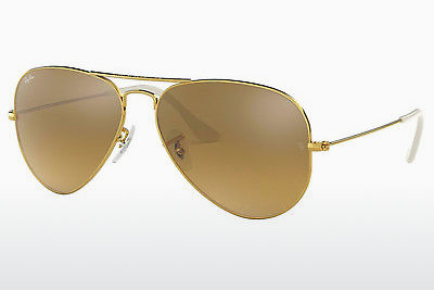 משקפי שמש Ray-Ban AVIATOR LARGE METAL (RB3025 001/3K) - זהב