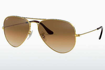 משקפי שמש Ray-Ban AVIATOR LARGE METAL (RB3025 001/51) - זהב