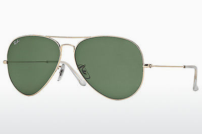 משקפי שמש Ray-Ban AVIATOR LARGE METAL (RB3025 001) - זהב