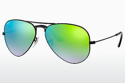משקפי שמש Ray-Ban AVIATOR LARGE METAL (RB3025 002/4J) - שחור