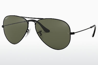 משקפי שמש Ray-Ban AVIATOR LARGE METAL (RB3025 002/58) - שחור