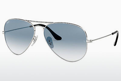 משקפי שמש Ray-Ban AVIATOR LARGE METAL (RB3025 003/3F) - כסוף