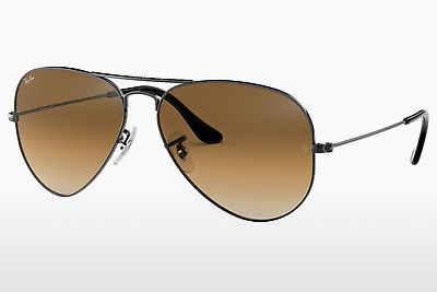 משקפי שמש Ray-Ban AVIATOR LARGE METAL (RB3025 004/51) - אפור