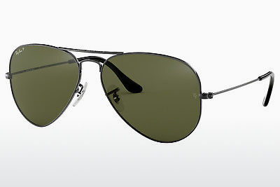 משקפי שמש Ray-Ban AVIATOR LARGE METAL (RB3025 004/58) - אפור