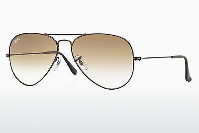 משקפי שמש Ray-Ban AVIATOR LARGE METAL (RB3025 014/51) - חום