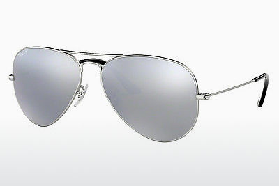 משקפי שמש Ray-Ban AVIATOR LARGE METAL (RB3025 019/W3) - כסוף
