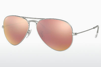 משקפי שמש Ray-Ban AVIATOR LARGE METAL (RB3025 019/Z2) - כסוף