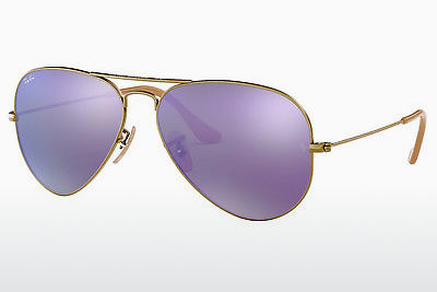 משקפי שמש Ray-Ban AVIATOR LARGE METAL (RB3025 167/1M) - חום